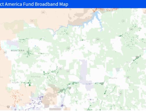 National Broadband Map Shows Mid-Rivers Participationas Broadband Provider
